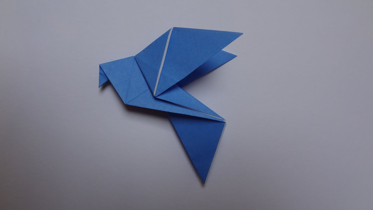 How To Make An Origami Dove HD