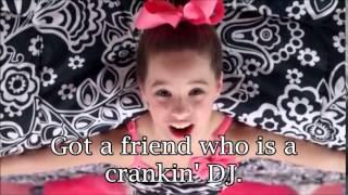 Mack Z (Mackenzie Ziegler)- It's A Girl Party Music Video with Lyrics
