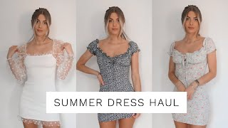 HAUL - SUMMER DRESS TRY ON | Fashion Influx
