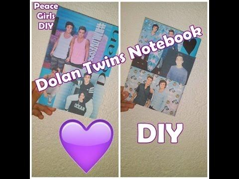 Dolan Twins Notebook   PeaceGirls DIY