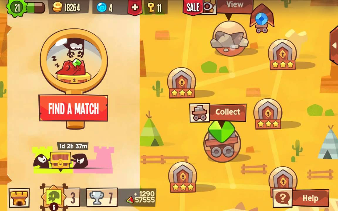 King of Thieves:two stared a adventure map base King Of Maps on