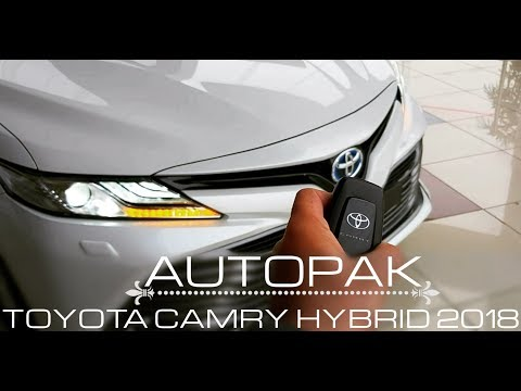 Toyota Camry Hybrid 2018. Detailed Review: Price, Specifications & Features.