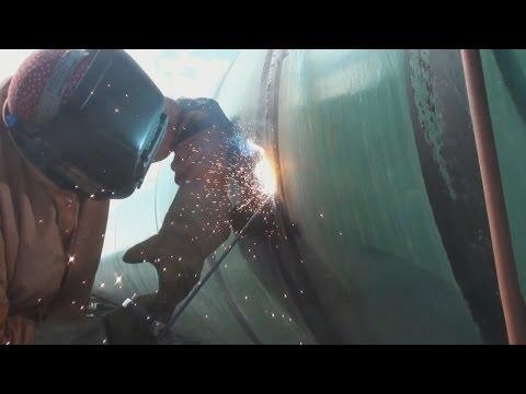 Pipeline Welding  -  Repair Welding  -  Internal Undercut