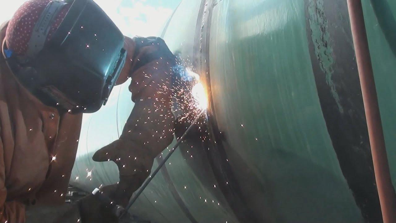 Pipeline Welding - Repair Welding - Internal Undercut ...