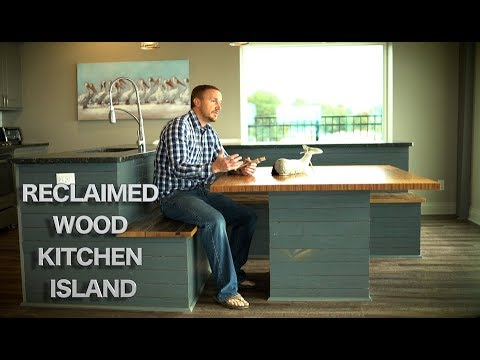 The Reclaimed Wood Kitchen Island