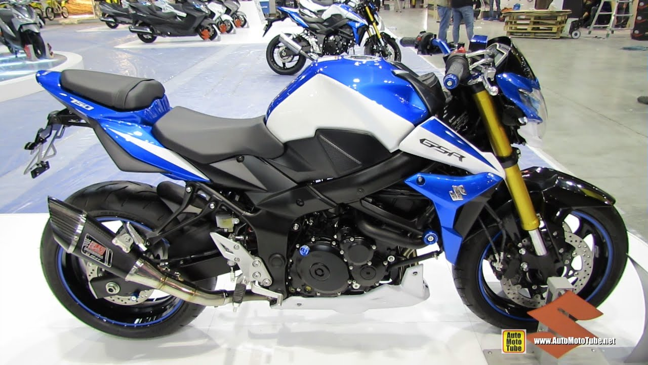 2015 suzuki gsr 750 walkaround 2014 eicma milan motorcycle exhibition youtube. Black Bedroom Furniture Sets. Home Design Ideas