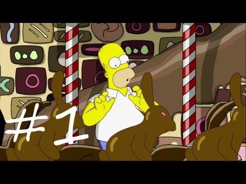 Les Simpson Le Jeu - épisode 1 : Le royaume du chocolat | [Xbox 360] Let's play HD Français poster