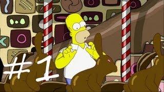 Les Simpson Le Jeu - épisode 1 : Le royaume du chocolat | [Xbox 360] Let's play HD Français