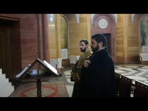 Утренняя служба в Армянской Церкви г. Москвы (ճանապարհ բարի)