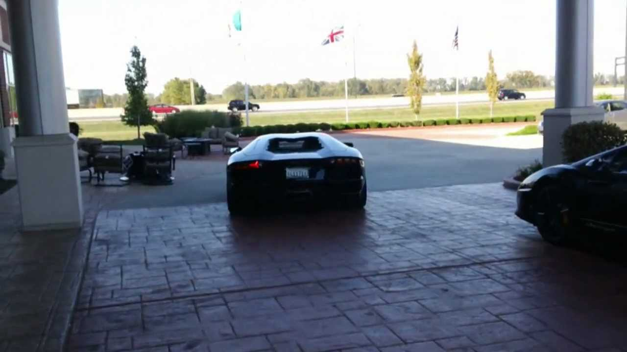 Amazing Lamborghini Aventador Top Speed Run: St. Louis   YouTube