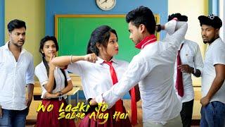 Wo Ladki Jo Sabse Alag Hai | Romantic Love Story | School Love Story | COME to LIFE