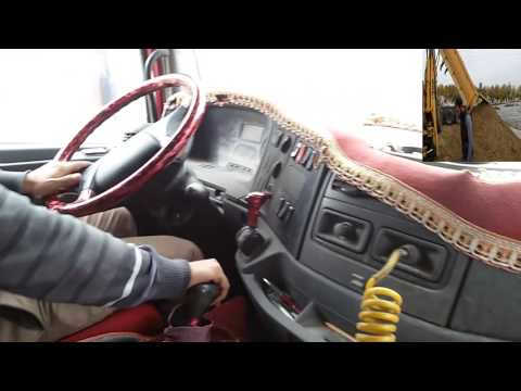 Kamyon NASIL Kullanılır MERCEDES AXOR Truck How To Use ट्रक का उपयोग कैसे करें