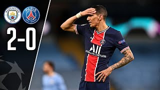 Paris n'ira pas en finale de LDC ! (Manchester City 2-0 PSG)
