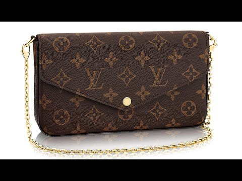 Louis Vuitton Felicie Chain Wallet Review - YouTube f19756bd62d70