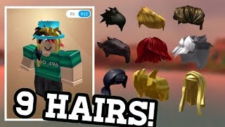 WEAR +9 HAIRS AT THE SAME TIME! *ON MOBILE/TABLET* - ROBLOX
