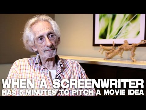 When A Screenwriter Has 5 Minutes To Pitch A Movie Idea by Larry Hankin