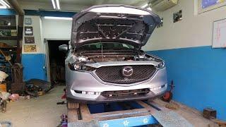 Mazda CX-5 . Подготовка к сборке. Ремонт жалюзи.