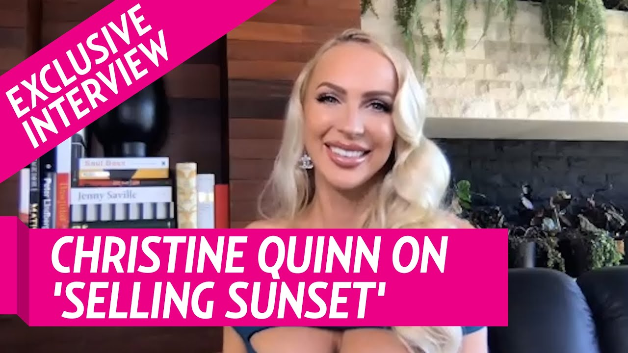 Download Christine Quinn Reveals Where She Stands With Heather and Chrishell After Selling Sunset Drama