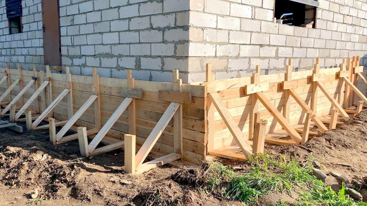 Усиление фундамента загородного дома