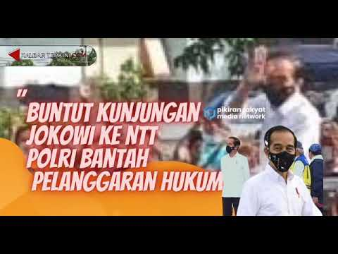 Soal Kerumunan Jokowi di NTT, Polri Sebut Begini
