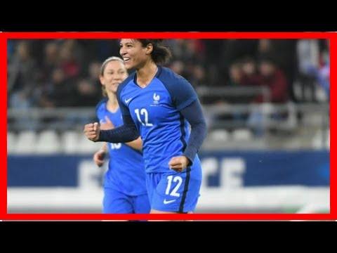 Amical : les Bleues s'amusent contre le Nigeria avec un triplé de Valérie Gauvin