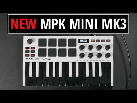 AKAI MPK MINI MK3 - Unboxing and First Impression