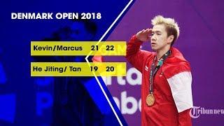 Kevin Sanjaya dan Marcus Gideon Berhasil Singkirkan Wakil China di Denmark Open 2018