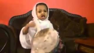 baby singing Ethiopian Orthodox song