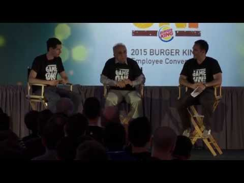 Prof. Falconi interview - Burger King Convention