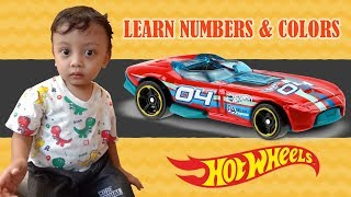 Belajar Angka dalam Bahasa Inggris menggunakan Mobil mainan