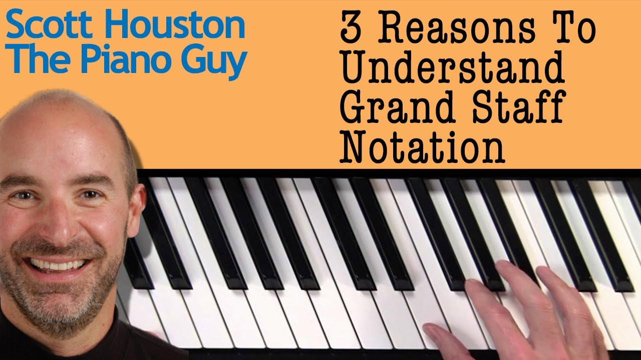 3 Advantages of Reading Grand Staff Music Notation