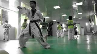 Master Park's TKD Kids in Busan, Korea