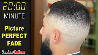 HOW to EASILY Fąde FASTER | FADE Technique - Barber Tutorial