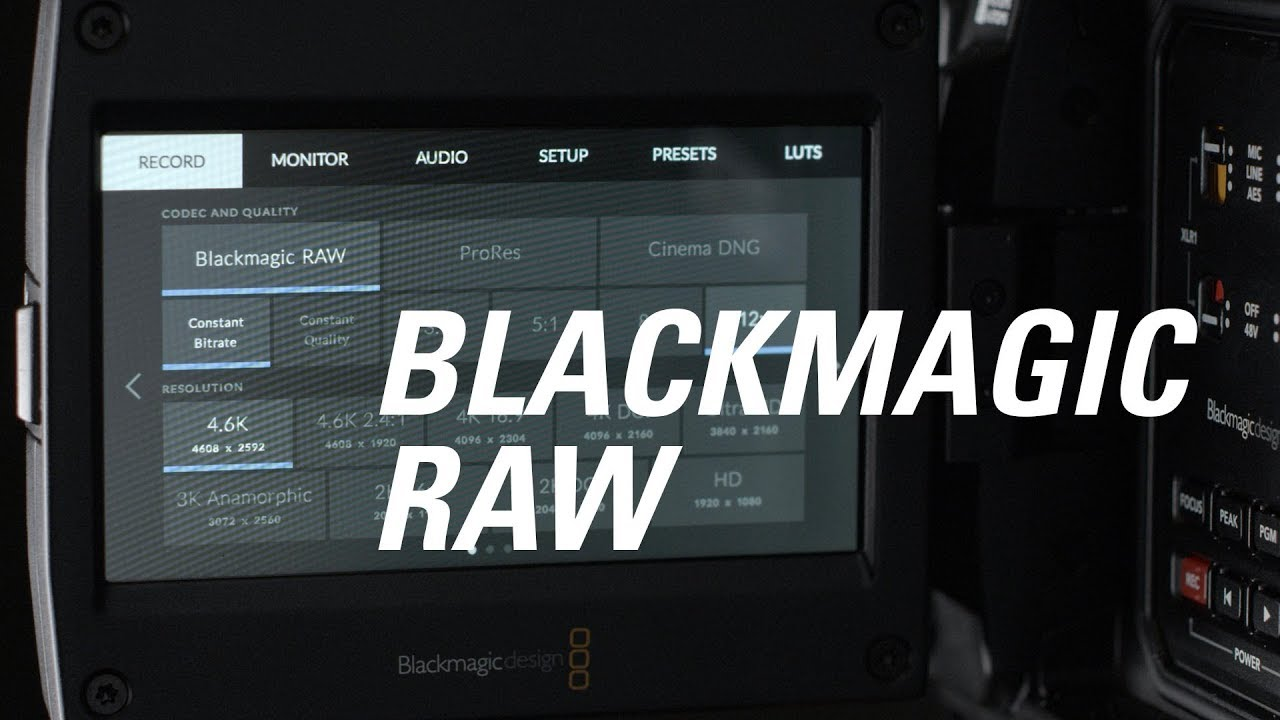 Blackmagic Raw Explained Youtube