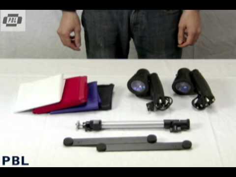 PBL Portable Light Tent Kit - Set-Up Instructions