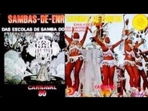 🎵 Grandes Sambas Enredo Especial (Carnaval Rio 1979 - 1980) 🎵