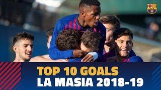 Best La Masia goals of the 2018/19 season