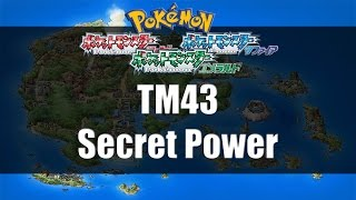 Pokemon Ruby/Sapphire/Emerald - Where to find TM43 Secret Power