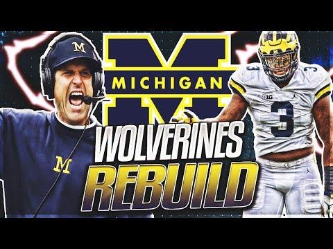 Michigan Rebuild -- Shea Patterson Becomes UMs Greatest QB | NCAA Football 14 Rebuild