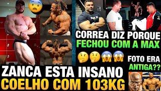 ZANCA INSANO - CORREA DIZ PORQUE FECHOU COM A MAX TITANIUM - LUCAS COELHO 103KG E MAIS