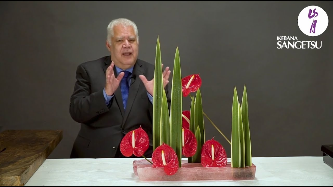 Plane of Flowers and Leafs - Class with Master Erisson Thompson