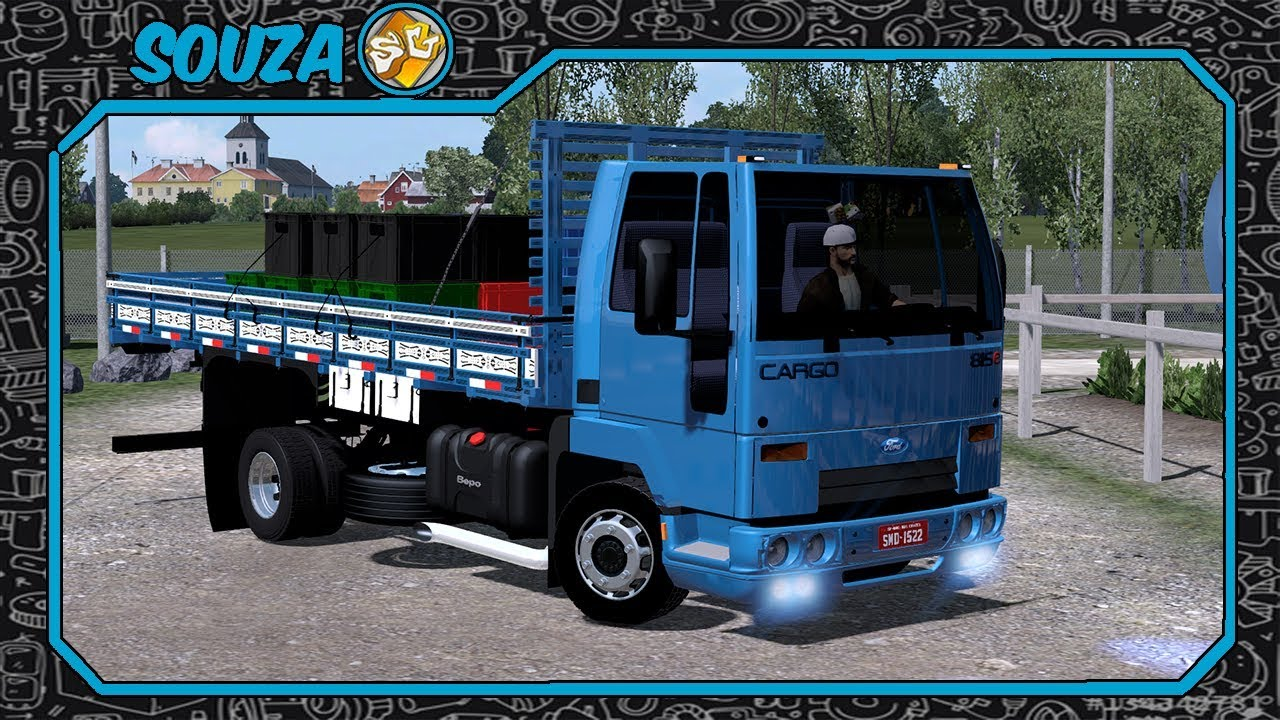 Ets2 Download Cargo 815 Carroceria Youtube