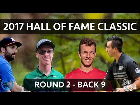 2017 Hall of Fame Classic - R2 Bk 9 - Paul McBeth, Grady Shue, Peter McBride, Doug Marinovich