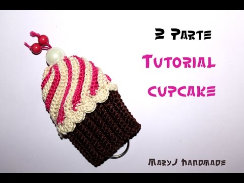 Cupcake Alluncinetto Parte 2 Di 2 Crocheted Cupcake 2 Of 2