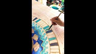 🇬🇧🎥🎞 Episode 12: silk painting