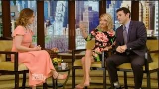 Emilia Clarke interview Live! With Kelly co-host Fred Savage (May 23, 2016)