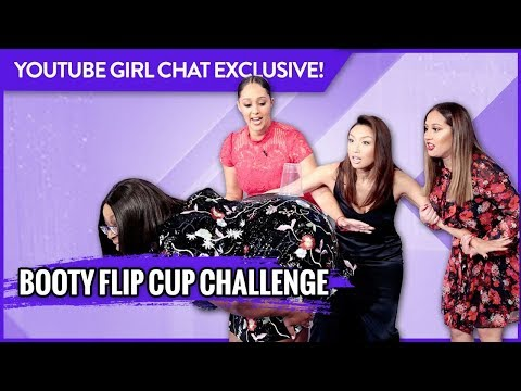 WEB EXCLUSIVE: Booty Flip Cup Challenge