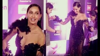 Sizzling Diva Nora Fatehi's Most Awkward Moment At Star Screen Awards 2018