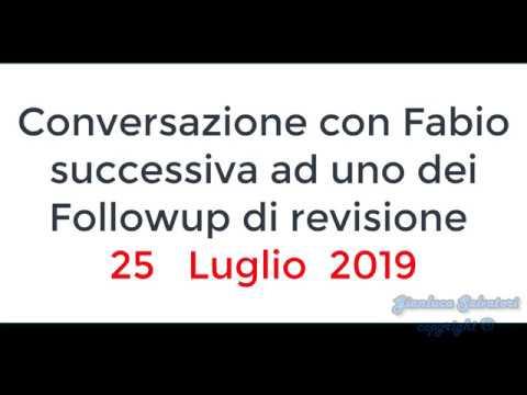 Telefonata Con Fabio - 25 Luglio 2019