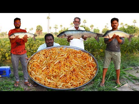 FISH AND CHIPS | Crispy Fish And Chips Recipe | Yummy Crispy Fried Fish | Grandpa Kitchen